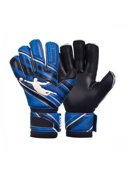 Перчатки вратарские BRAVE GK PHANTOME черно-синие
