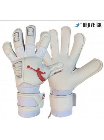купить Перчатки вратарские BRAVE GK RESQUER бело-красные