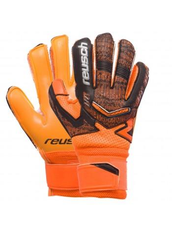 купить Вратарские перчатки Reusch оранжевые