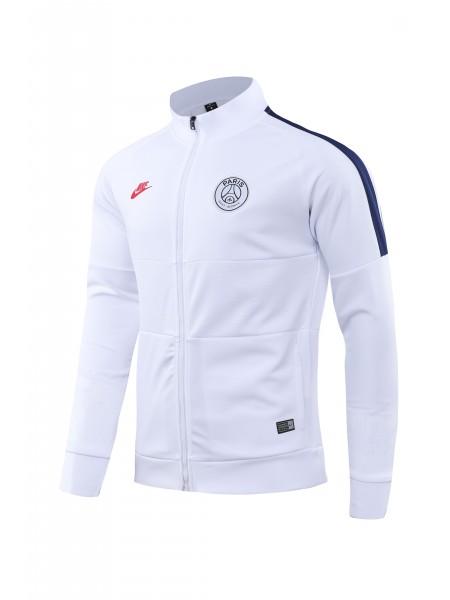 Спортивный костюм ПСЖ бело-синий 2019-2020