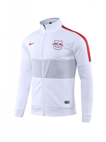 Спортивный костюм РБ Лейпциг бело-синий 2019-2020