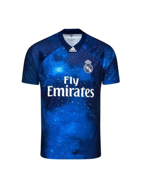 Детская футбольная форма Реал Мадрид резервная EA Sports 2018-2019