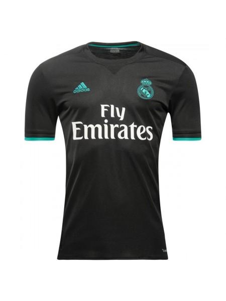 Футболка игровая Реал Мадрид выездная 2017-2018 премиум качество