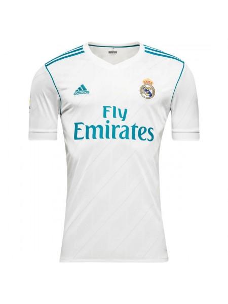 Футболка игровая Реал Мадрид домашняя 2017-2018 премиум качество