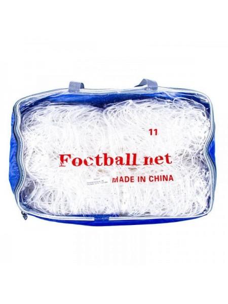 Сетка для футбольных ворот FN-02-11 d=2.5mm, 12*12, 7.3x2.44m