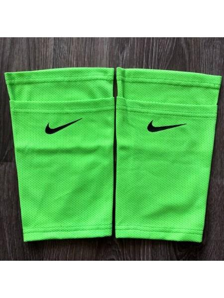 Фиксатор для футбольных щитков Nike салатовый