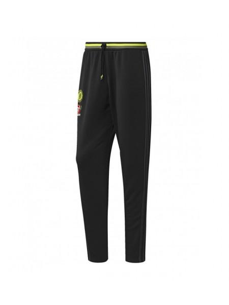 Футбольные штаны Челси черные