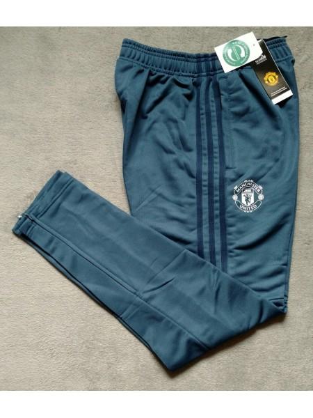 Футбольные штаны Манчестер Юнайтед синие