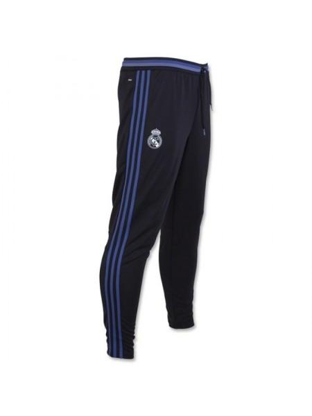 Футбольные штаны Реал Мадрид черные