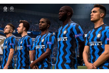 Резервная форма Интера в ролике FIFA21