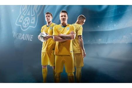 Новая форма сборной Украины