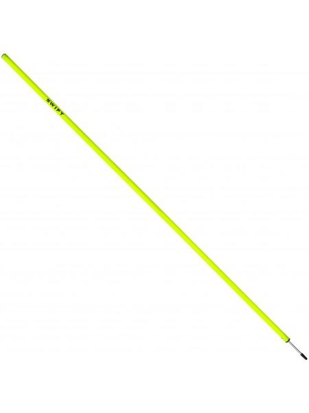 Шест для слалома SWIFT Training Slalom Pole With Spike, желтый, 170 см