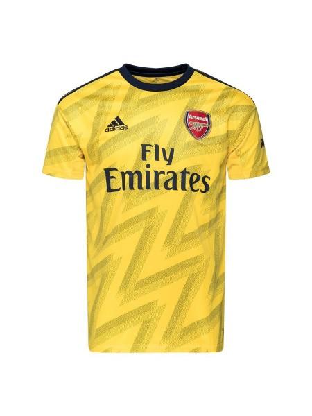 Тренировочная футболка Арсенал  игровая 2019-2020 желтая