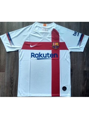 купить Тренировочная футболка Барселона игровая 2019-2020