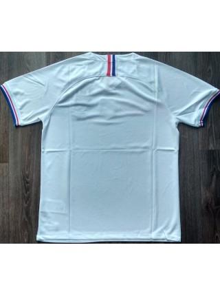 Тренировочная футболка Франции игровая 2019-2020 белая