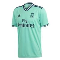 Тренировочная футболка Реал Мадрид резервная игровая 2019-2020 бирюзовый