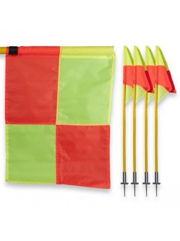 купить Флаги угловые для футбольного поля (комплект 4 шт)
