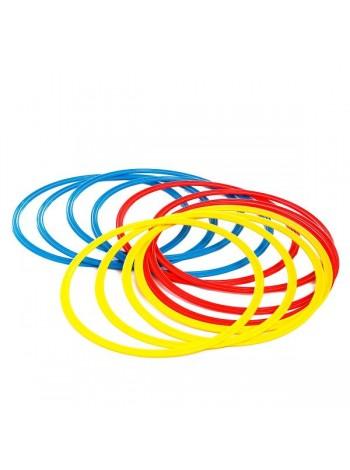 купить Кольца тренировочные (комплект 12 шт, 3 цвета, 40см) + сумка