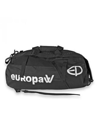 Сумка-рюкзак Europaw черная [M]