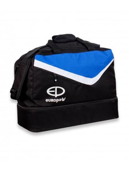 Сумка спортивная Europaw TeamLine черно-синяя