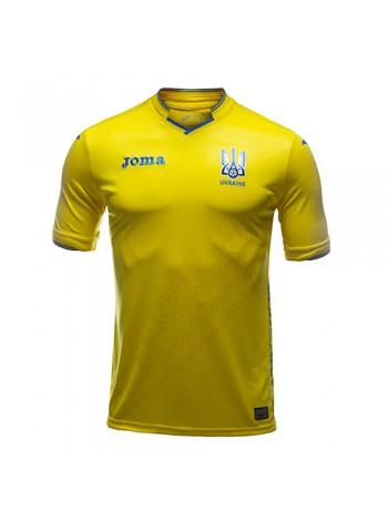 купить Футбольная форма национальной сборной Украина домашняя 2018