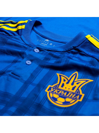 Футбольная форма национальной сборной Украина выездная 2017 желтые шорты