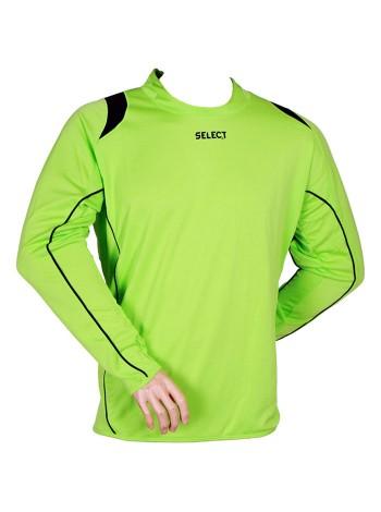купить Свитер вратарский SELECT Goalkeeper Shirt Spain (салатовый) р.XXL