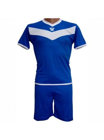 купить Форма футбольная детская SWIFT 26 Idea Tactel (сине/белая) р.152 см