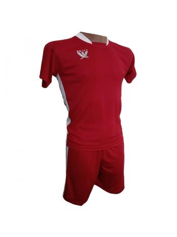 купить Футбольная форма детская Swift PRIORITET (красно - белая) 152 см