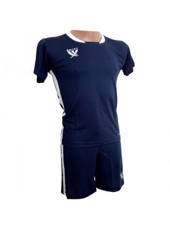 купить Футбольная форма детская Swift PRIORITET (т.сине-белая) 158 см
