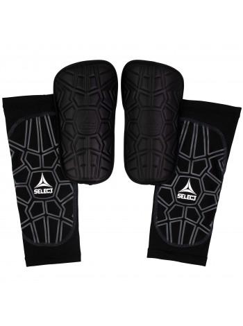 купить Щитки футбольные SELECT SHIN GUARD SUPER SAFE, (010), черный p.XS
