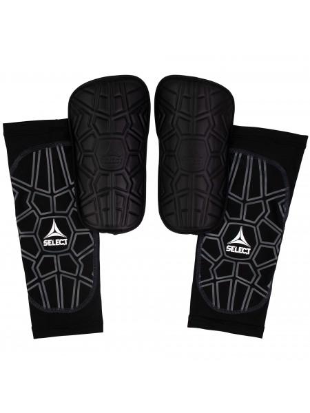 Щитки футбольные SELECT SHIN GUARD SUPER SAFE, (010), черный p.XS