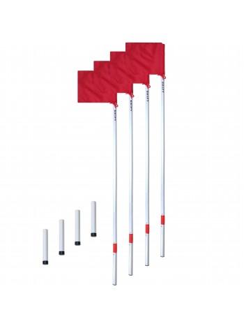 купить Флаги угловые SWIFT Corner Flag Flexi Pro, с пластиковым стаканом (4 шт)