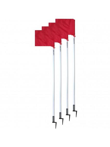 Флаги угловые SWIFT Corner Flag Flexi Racer, на пружине (4 шт)