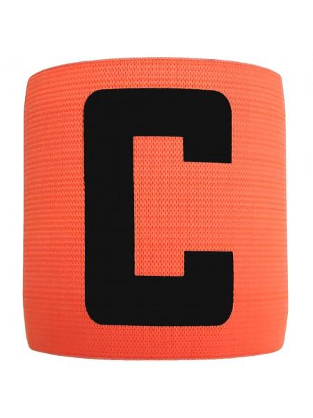 Капитанская повязка на липучке SWIFT Capitans Band, оранжевая, Junior