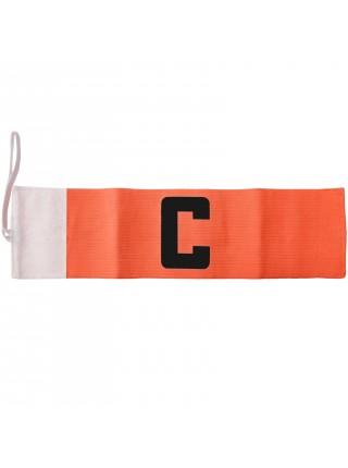 Капитанская повязка на липучке SWIFT Capitans Band, оранжевая, Senior