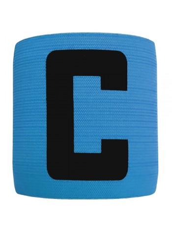 купить Капитанская повязка на липучке SWIFT Capitans Band, синяя, Senior
