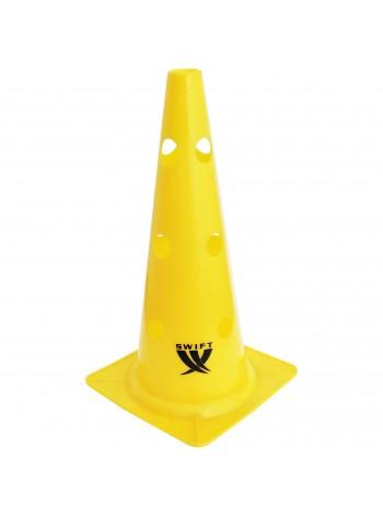 """купить Конус с отверстиями SWIFT Training Marker with Hole, 38 см/15"""", желтый"""