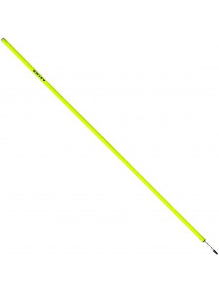 Шест для слалома SWIFT Training Slalom Pole With Spike, желтый, 170 см