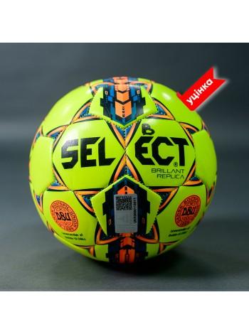купить Мяч футбольный B-GR SELECT BRILLANT REPLICA,(019) салат/син/оранж, р.3