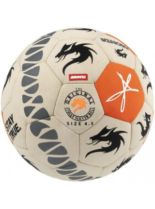 Мяч футбольный MONTA FreeStyler (008) беж/оранж, размер 4,5