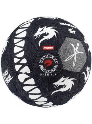 Мяч футбольный MONTA Street Match (004) т.синий/бел размер 4,5