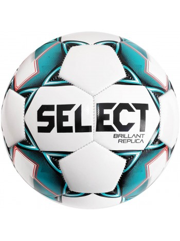 купить Мяч футбольный SELECT Brillant Replica (317) бел/зел размер 3