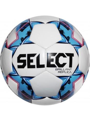 купить Мяч футбольный SELECT Brillant Replica (318) бел/гол размер 5