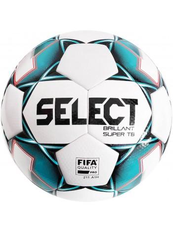 купить Мяч футбольный SELECT Brillant Super FIFA TB (043) бел/зеленый размер 5