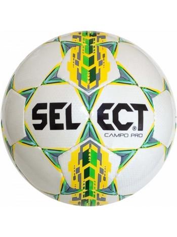 купить Мяч футбольный SELECT Campo Pro ((320) бел/желт) размер 3