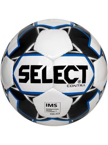 купить Мяч футбольный SELECT Contra IMS (306), бел/синий р.5