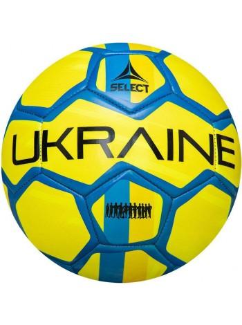 купить Мяч футбольный SELECT FB EM 2020 Ukraine, (782) голуб/желт, р.5