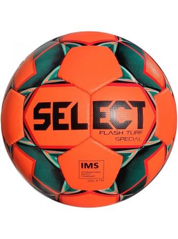 купить Мяч футбольный SELECT Flash Turf Special (012) оранж/черн р.5