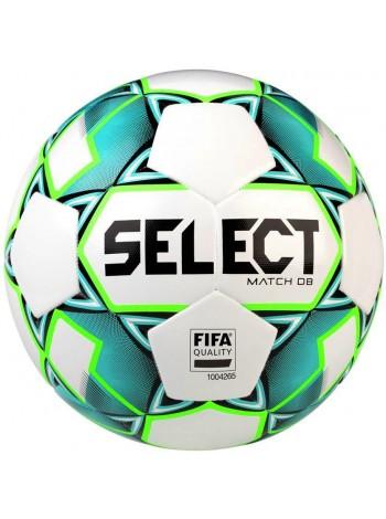 купить Мяч футбольный SELECT Match DB FIFA  (748), бел/зелен р.5